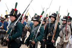 200o aniversario de Leipzig de la batalla de las naciones fotos de archivo libres de regalías