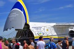 90.o aniversario del aeropuerto de Leipzig-Halle, exposición, aeropuerto de Alemania, Leipzig-Halle, 06/11/2017 Imágenes de archivo libres de regalías