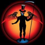 O anjo da escuridão ilustração royalty free