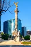 O anjo da independência, um símbolo de Cidade do México imagens de stock royalty free