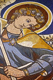 O anjo de Kaiser-Wilhelm-Gedachtniskirche, mosaico, Berlim Foto de Stock Royalty Free