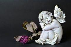 O anjo e inoperante aumentaram Fotos de Stock