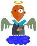O anjo em reza Imagens de Stock Royalty Free