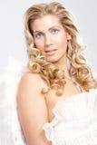 O anjo gosta da mulher Imagens de Stock Royalty Free