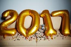 O ano ao vindo Fotografia de Stock