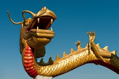 O ano do dragão Imagens de Stock Royalty Free