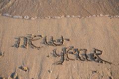 O ano novo 2014 é conceito de vinda Fotografia de Stock Royalty Free