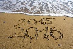 O ano novo 2016 é conceito de vinda Fotografia de Stock Royalty Free