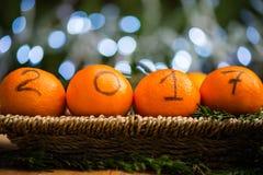 O ano novo 2017 é conceito de vinda Imagens de Stock