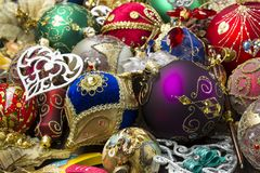 O ano novo brinca o montão Imagem de Stock Royalty Free