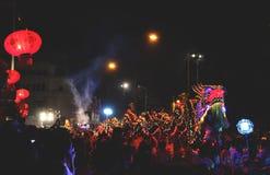 O Ano Novo chinês do dragão Foto de Stock