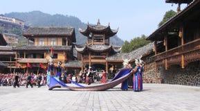 O ano novo de Hmong Fotografia de Stock Royalty Free