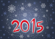 O ano novo 2015 dos locais Imagem de Stock Royalty Free