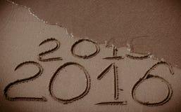 O ano novo 2016 está vindo Imagem de Stock