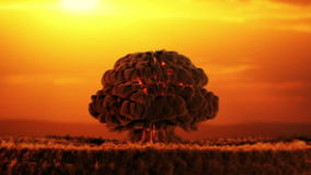 O apocalipse ilustração royalty free