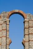 O aqueduto dos milagre de Merida (Emerita Augusta) Fotografia de Stock