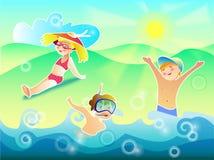 O ar e a água de Sun são nossos melhores amigos Fotografia de Stock Royalty Free