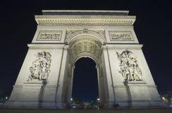 O Arc de Triomphe Fotografia de Stock