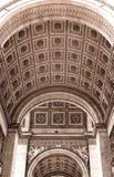 O Arc de Triomphe Fotos de Stock