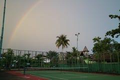 O arco-íris foto de stock