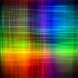 O arco-íris abstrato borrou linhas fundo da arte da pintura da cor Fotos de Stock