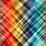 O arco-íris abstrato borrou linhas fundo da arte da pintura da cor Foto de Stock