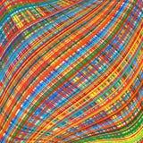O arco-íris abstrato curvado listra o fundo da cor Imagens de Stock Royalty Free