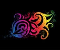 O arco-íris acena a pena Foto de Stock Royalty Free