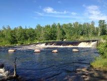 O arco-íris cai Winnipeg Canadá Imagem de Stock Royalty Free