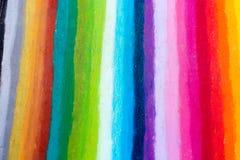 O arco-íris colore listras fotografia de stock royalty free