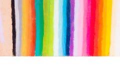 O arco-íris colore listras fotografia de stock