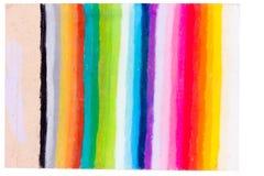 O arco-íris colore listras imagens de stock royalty free