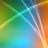 O arco-íris colore o fundo Fotos de Stock