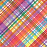 O arco-íris da arte abstrato curvado alinha o fundo colorido Foto de Stock Royalty Free