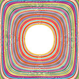 O arco-íris da arte abstrato curvado alinha o fundo colorido Fotografia de Stock