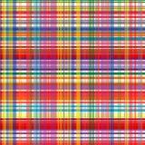 O arco-íris da arte abstrato curvado alinha o fundo colorido Imagens de Stock Royalty Free