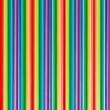 O arco-íris da arte abstrato curvado alinha o fundo da cor Imagem de Stock