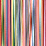 O arco-íris da arte abstrato curvado alinha o fundo da cor Fotos de Stock