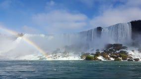 O arco-íris das cachoeiras ajardina Niagara Falls, Toronto Imagens de Stock Royalty Free