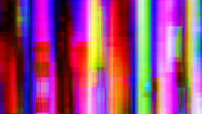 O arco-íris do ruído distorcido alinha o fundo abstrato de Digitas Fotografia de Stock