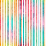 O arco-íris listra o teste padrão sem emenda Imagem de Stock