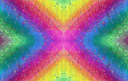 O arco-íris no micro mundo Imagem de Stock Royalty Free