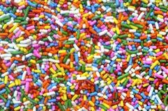O arco-íris polvilha Foto de Stock