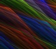 O arco-íris rosqueia o sumário Imagem de Stock
