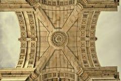 O arco de Augusta Monumento importante e antigo da cidade Fotos de Stock