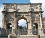 O arco de Constantim, Roma foto de stock royalty free