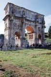 O arco de Constantine Arco de Constantino foto de stock