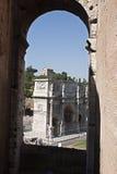 O arco de Constantino imagem de stock royalty free