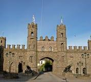 O arco do castelo Imagens de Stock