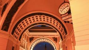 O arco do estado maior geral está em St Petersburg filme